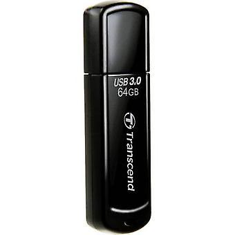 Transcend JetFlash® 700 USB stick 64 GB Black TS64GJF700 USB 3.0