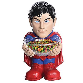 Superman candy Bowl holder half statue 40 cm with Bowl