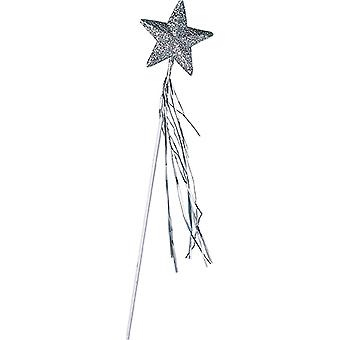 Star Bar children 42 cm silver fairy sorceress witch accessory Carnival