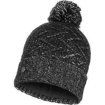 Buff Ebba Knitted Bobble Hat
