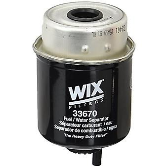 WIX Filters - 33670 Heavy Duty Key-Way Style Fuel Manage, Pack of 1