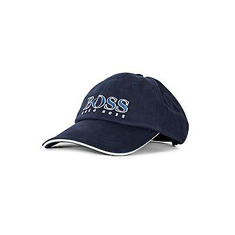 Boss Hugo Boss Navy Blue Embroidered Logo Cap