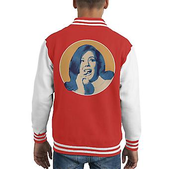 TV-Zeiten Diana Rigg Kid Varsity Jacket