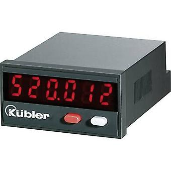Kübler CODIX 520 Pulse timer Codix 520 Assembly dimensions 45 x 22 mm