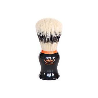 Omega afeitar cepillo jabalí cerdas cepillo detalle naranja