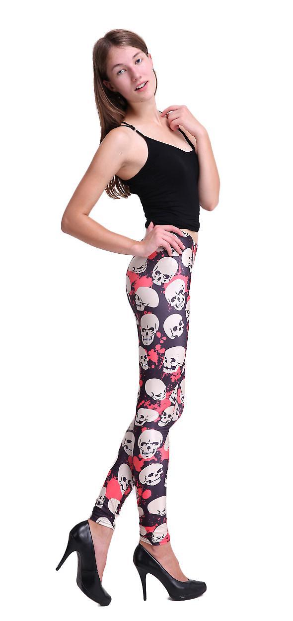 Waooh - Mode - Legging motif crâne
