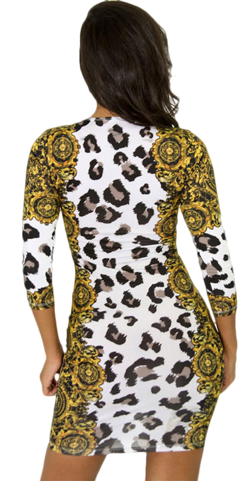 Waooh - Robe motif léopard Fibe