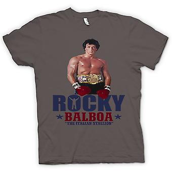 Heren T-shirt - Rocky Balboa Italian Stallion - Film