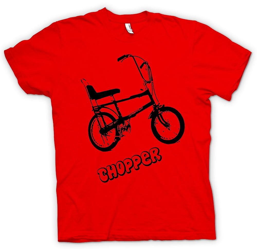 Camiseta para hombre - Chopper - Old Skool - bicicleta Retro