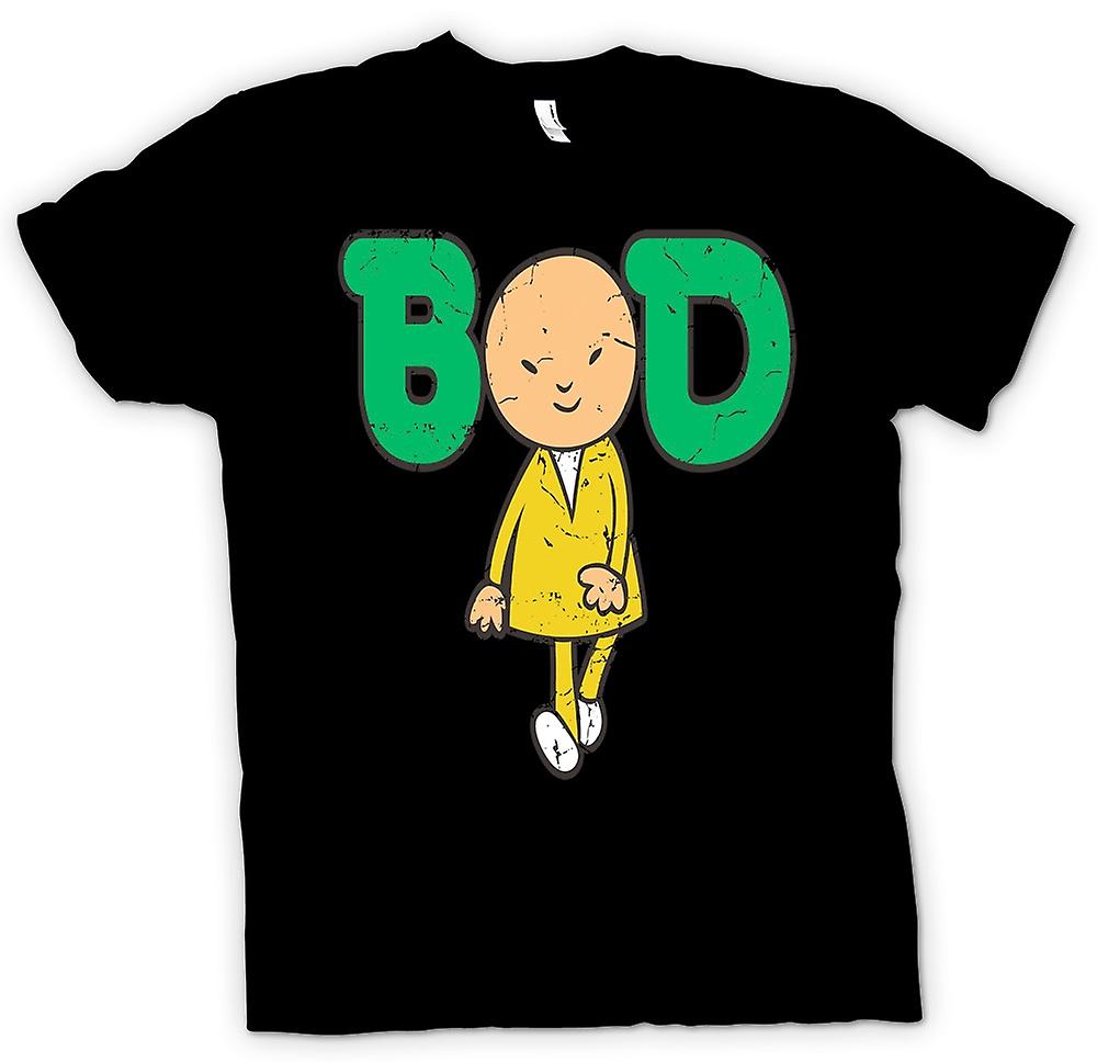 Womens T-shirt - Bod - Classic 70s Cartoon
