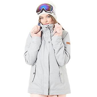 Roxy Warm Heather Grey Billie Womens Snowboarding Jacket