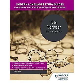 Modern Languages Study Guides - Der Vorleser - Literature Study Guide f