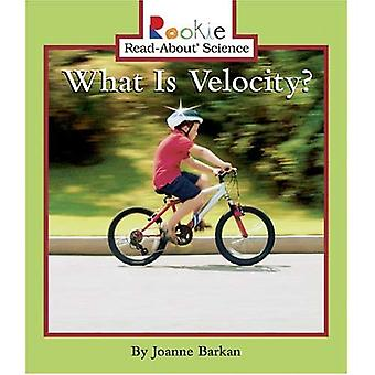 What Is Velocity? (Rookie Read-About Science)