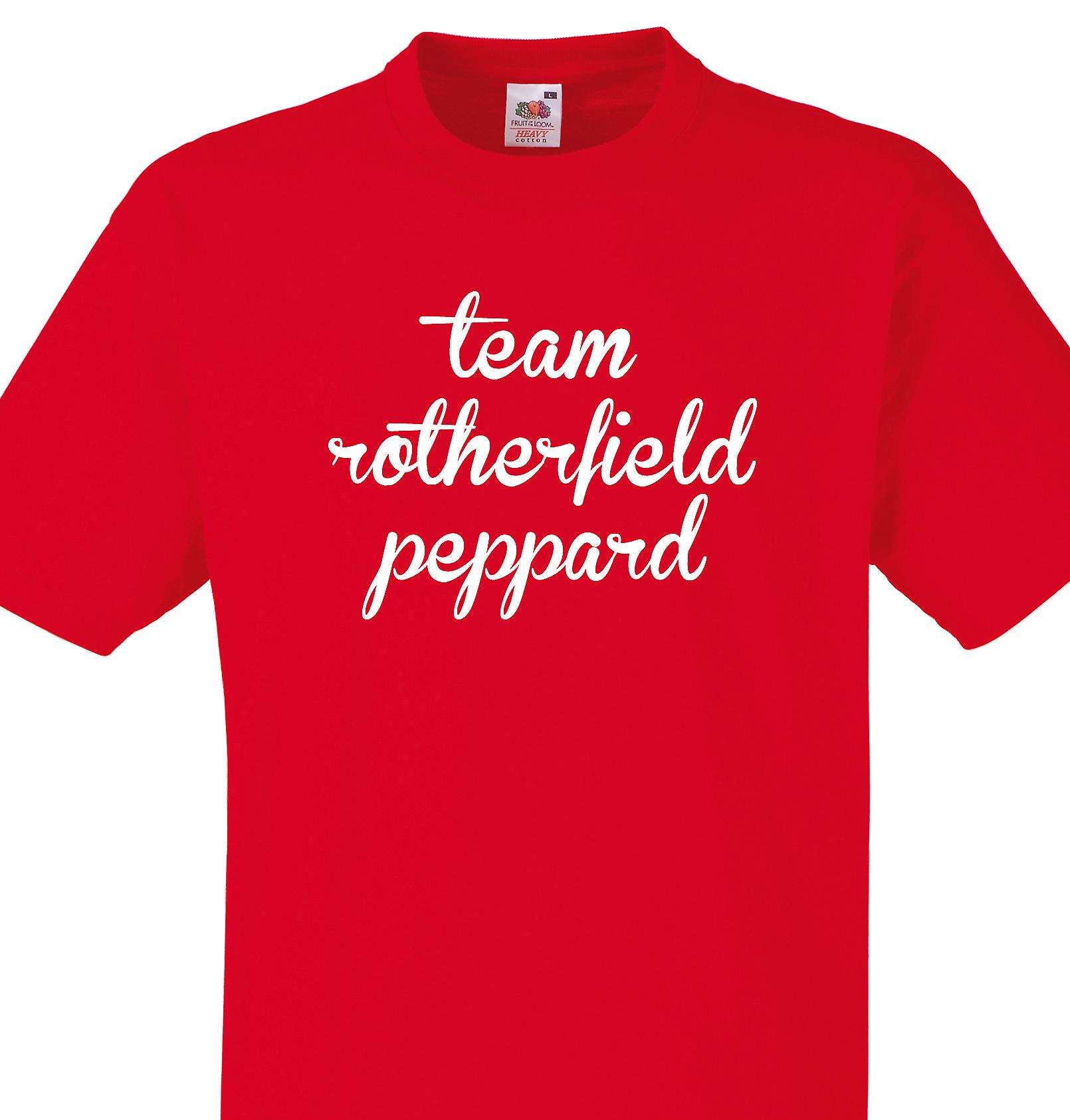Team Rotherfield peppard Red T shirt
