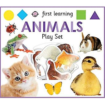 First Learning Animals Play� Set (First Learning Play Sets)
