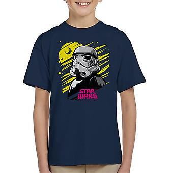 Star Wars Bold Imperial Stormtrooper Kid's T-Shirt