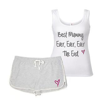 Bästa mamman någonsin någonsin i slutet pyjamas Set