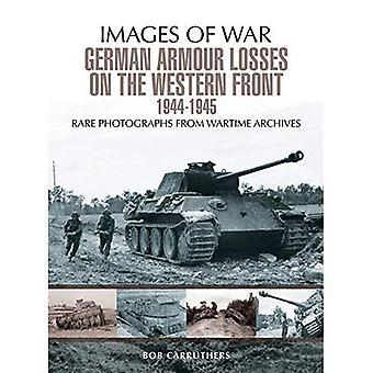 Duitse Armour verloren on the Western Front (beelden van oorlog)