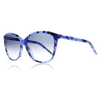 Marc Jacobs 69S U1T Blue Havana Marc 69S Oval Sunglasses Lens Category 2 Size 58mm