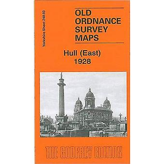 Hull East (Old O.S. Maps of Yorkshire) [Facsimile] [Folded Map]