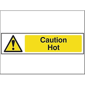 CAUTION HOT - PVC 200 X 50MM