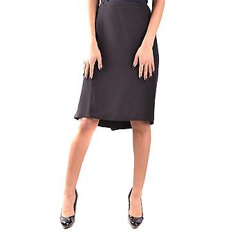 Armani Collezioni Black Acetate Skirt