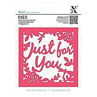 Xcut Dies (1pc) - Just for You Topper (XCU 503297)