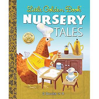 Little Golden Book Nursery Tales by J. P. Miller - 9780553536676 Book