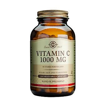 Solgar, Vitamin C 1000 mg Vegetable Capsules , 100