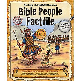 Bible People Factfile by Peter Martin - Matt Buckingham - 97807459638