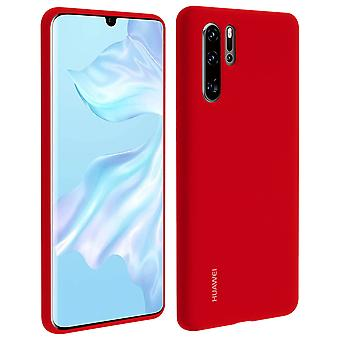 Huawei P30 Pro Soft Case Huawei Semi-rigid Silicone - Red