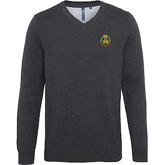 York And Lancaster Regiment - Licensed British Army Embroidered Jumper
