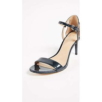 Michael Michael Kors Femmes Simone Open Toe Ankle Strap Classic Pompes