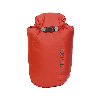 Exped Bright Fold Drybag Red (8L)
