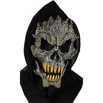 Schädel mit Fangs Maske