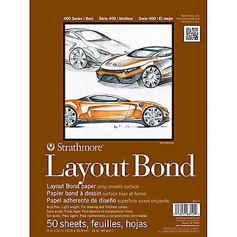 Strathmore Layout Bond Paper Pad 9