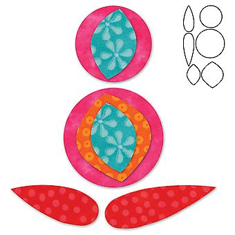 Go! Fabric Cutting Dies It Fits! Pomegranate 553 71