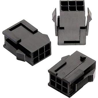 Pin enclosure - cable WR-MPC3 Total number of pins 8 Würth Elektronik 66200821822 Contact spacing: 3 mm 1 pc(s)