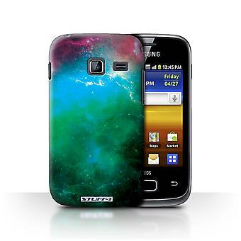 STUFF4 Case/Cover for Samsung Galaxy Y Duos/S6102/Green Nebula/Space/Cosmos