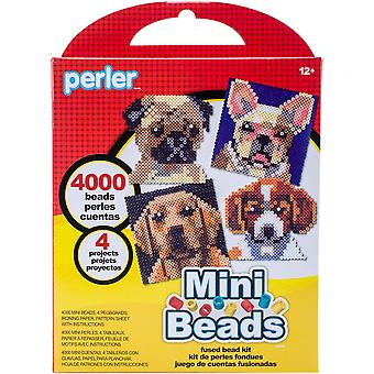 Perler Mini Beads Fused Bead Kit-Dogs 80-53005