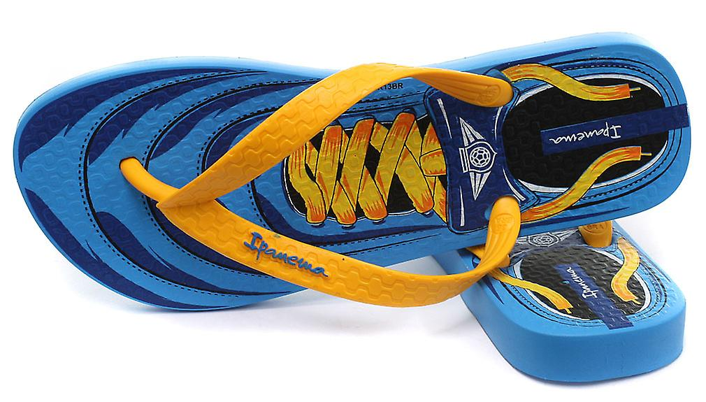 Ipanema Brasil lacets bleu Junior Summer Flip Flops