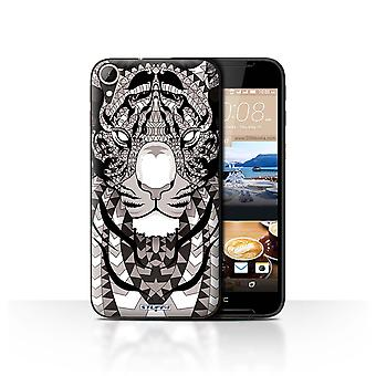 STUFF4 Case/Cover for HTC Desire 830/Tiger-Mono/Aztec Animal