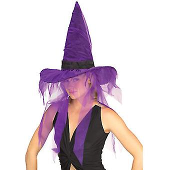 Rubie's Witch Hats 2 Colors Assorted Tulle (Costumes)