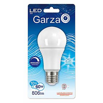 Garza Standard LED Dimmable Warm Light 10W E27 240  806Lm 27K