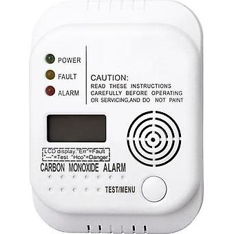 Gas detector Smartwares RM370 SW battery-powered detects Carbon monoxide