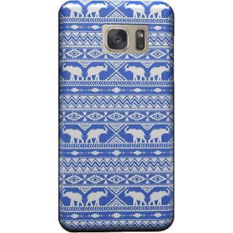 Elephant Tribal bleu housse pour Galaxy S6
