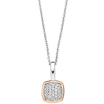 Necklace and pendant Ti Sento 6753ZR - necklace and pendant Zirconium Rose wife