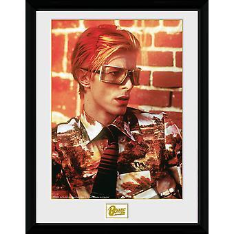 David Bowie gafas imprimir colector