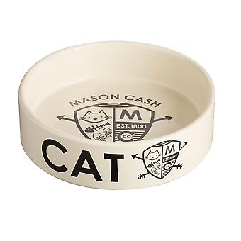 Mason Cash Cat Bowl Coat Of Arms 14cm (Pack of 6)