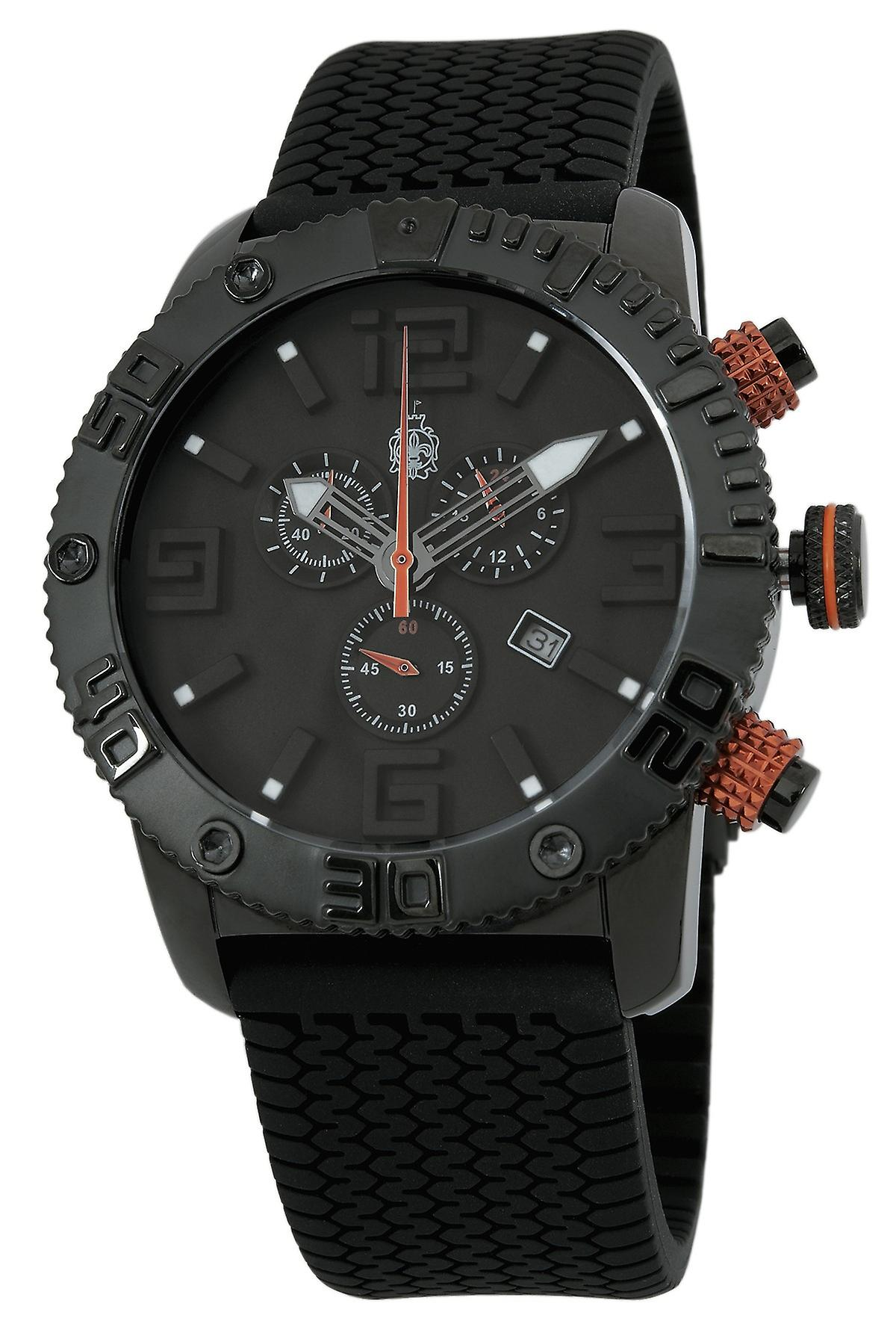 Burgmeister BLACK! Chrono Gents Chronograph BM521-622B